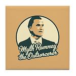 Romney the Outsorcerer Tile Coaster