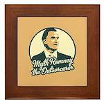 Romney the Outsorcerer Framed Tile