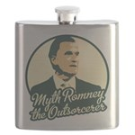 Romney the Outsorcerer Flask