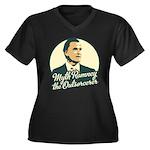 Romney the Outsorcerer Women's Plus Size V-Neck Da