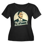 Romney the Outsorcerer Women's Plus Size Scoop Nec