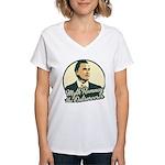 Romney the Outsorcerer Women's V-Neck T-Shirt