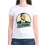 Romney the Outsorcerer Jr. Ringer T-Shirt