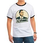 Romney the Outsorcerer Ringer T