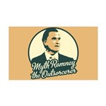 Romney the Outsorcerer 35x21 Wall Decal