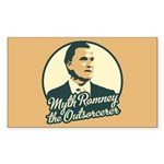 Romney the Outsorcerer Sticker (Rectangle)