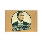 Romney the Outsorcerer Rectangle Magnet