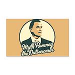 Romney the Outsorcerer Rectangle Car Magnet