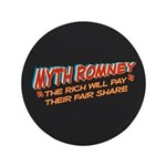 "Rich Myth Romney 3.5"" Button (100 pack)"