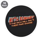 "Rich Myth Romney 3.5"" Button (10 pack)"