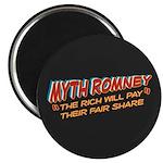 "Rich Myth Romney 2.25"" Magnet (10 pack)"