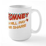 Rich Myth Romney Large Mug