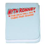Rich Myth Romney baby blanket