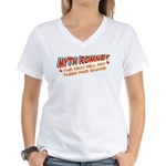 Rich Myth Romney Women's V-Neck T-Shirt