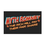 Rich Myth Romney 35x21 Wall Decal