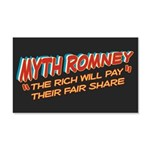 Rich Myth Romney 20x12 Wall Decal