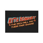 Rich Myth Romney Rectangle Magnet (100 pack)