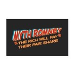 Rich Myth Romney Rectangle Car Magnet