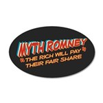 Rich Myth Romney 20x12 Oval Wall Decal