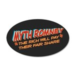 Rich Myth Romney 35x21 Oval Wall Decal