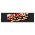 Rich Myth Romney Sticker (Bumper 10 pk)