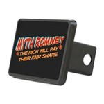 Rich Myth Romney Rectangular Hitch Cover
