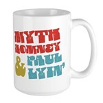 Myth Romney Paul Lyin Large Mug