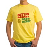 Myth Romney Paul Lyin Yellow T-Shirt