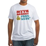 Myth Romney Paul Lyin Fitted T-Shirt