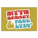 Myth Romney Paul Lyin Large Poster