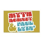 Myth Romney Paul Lyin 20x12 Wall Decal