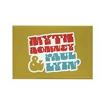 Myth Romney Paul Lyin Rectangle Magnet