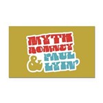 Myth Romney Paul Lyin Rectangle Car Magnet