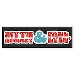 Myth Romney Paul Lyin Sticker (Bumper)
