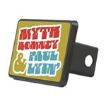 Myth Romney Paul Lyin Rectangular Hitch Cover