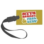 Myth Romney Paul Lyin Large Luggage Tag