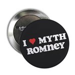 "I Heart Myth Romney 2.25"" Button (10 pack)"