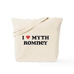 I Heart Myth Romney Tote Bag