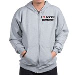 I Heart Myth Romney Zip Hoodie