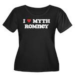 I Heart Myth Romney Women's Plus Size Scoop Neck D