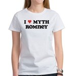 I Heart Myth Romney Women's T-Shirt