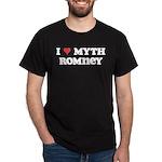 I Heart Myth Romney Dark T-Shirt