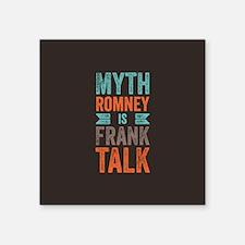 "Myth Frank Square Sticker 3"" x 3"""