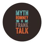 Myth Frank Round Car Magnet