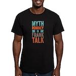 Myth Frank Men's Fitted T-Shirt (dark)