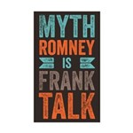 Myth Frank Sticker (Rectangle 50 pk)