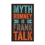 Myth Frank Sticker (Rectangle)