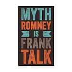Myth Frank Rectangle Car Magnet