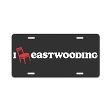 I Chair Eastwooding Aluminum License Plate