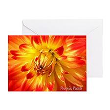 Greeting Card - Chakra Cards, Sacral, Dahlia